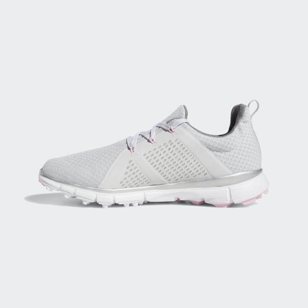 Adidas Climacool Cage Golfskor Dam Rabatt Grå Silver
