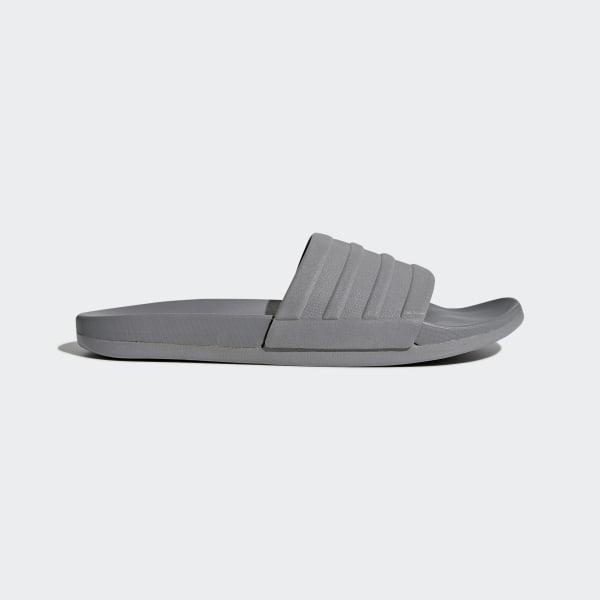 adidas adilette Cloudfoam Plus Mono Badslippers - Grijs | adidas Officiële  Shop