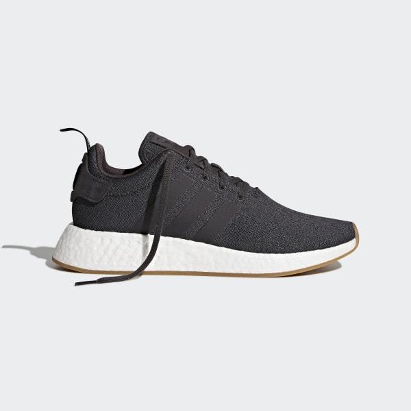adidas Originals NMD_R2 PK Damen Herren Turn Schuhe Sneaker Schwarz Weiß NEU OVP