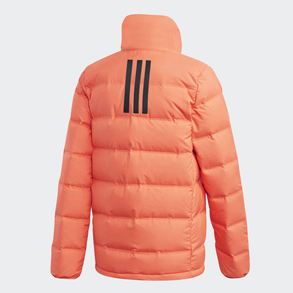 adidas Helionic 3 Stripes Jacket Orange | adidas Switzerland