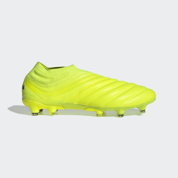 Adidas Scarpe Calcio Football Copa 19.3 FG Vera Pelle Giallo Firm Ground FG