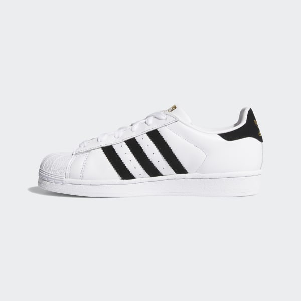 Mens Womens Sneakers Adidas Superstar Floral Graphic White Black Metallic Gold B28014 b28014