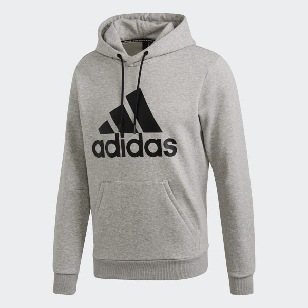adidas Must Haves Badge of Sport Fleece Pullover Grey | adidas US