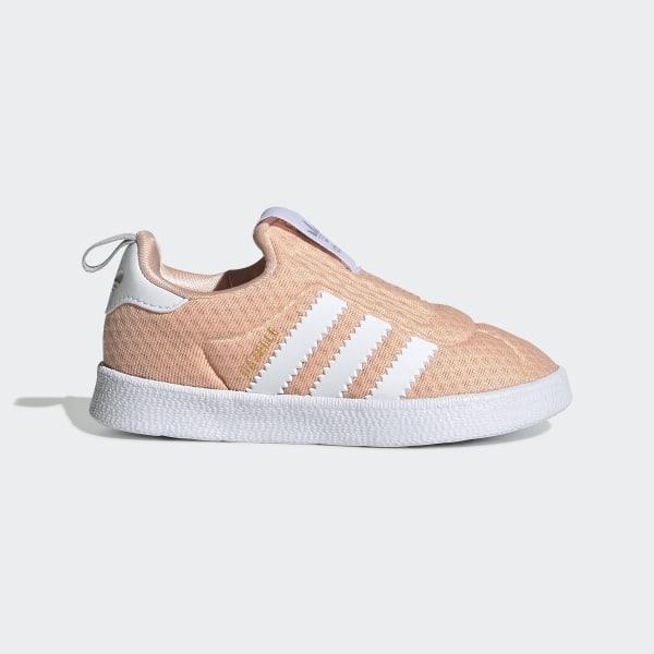 Gazelle 360 Schoenen Glow Pink / Cloud White / Grey Two EE6295