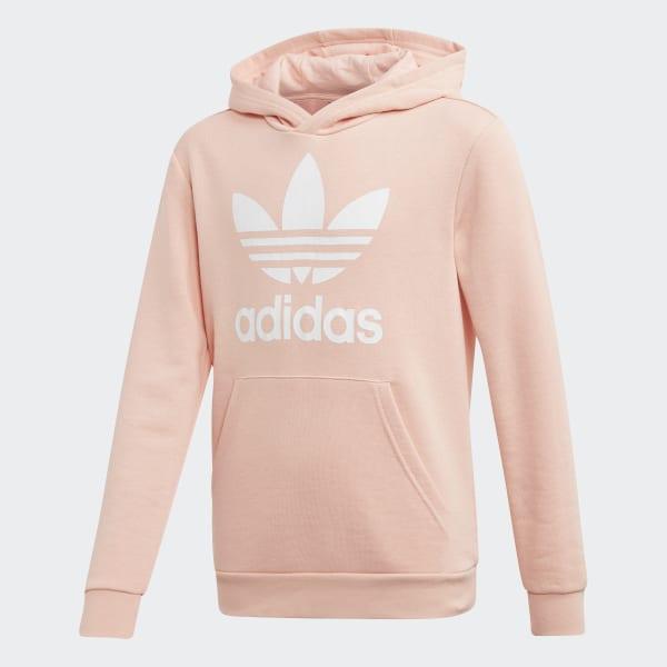 adidas bluza męska z kapturem różowe złoto