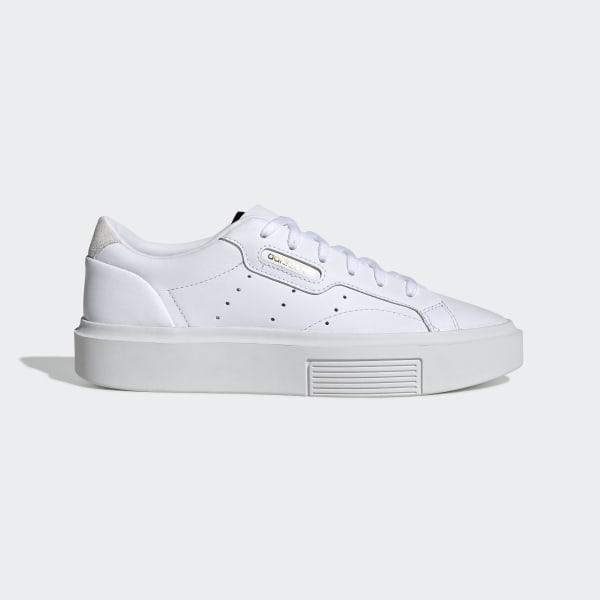 adidas Sleek Super Schuh Weiß | adidas Deutschland