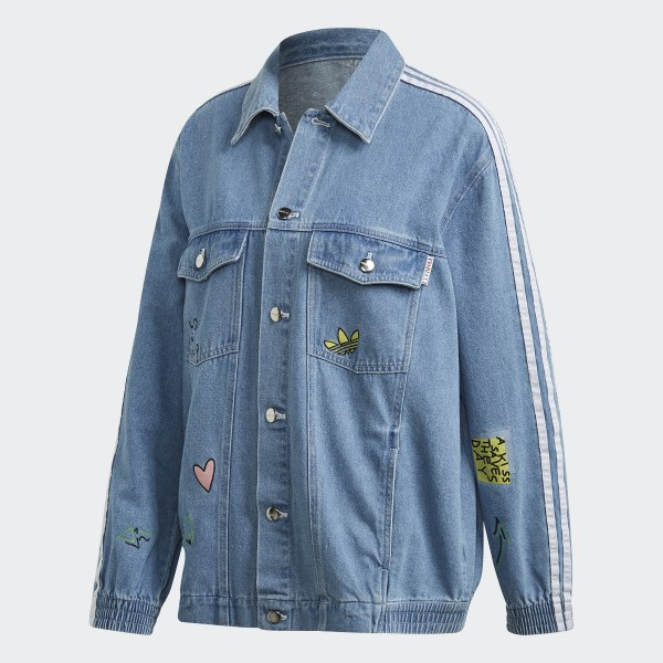 adidas superstar denim jacket