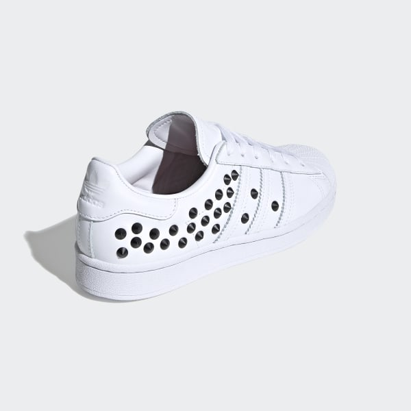 Superstar Schoenen Cloud White / Core Black / Scarlet FV3344