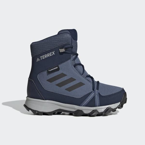 adidas Performance, Winterstiefel TERREX SNOW CP CW für Jungen, blue denim