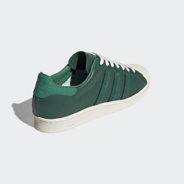adidas super estar verdes