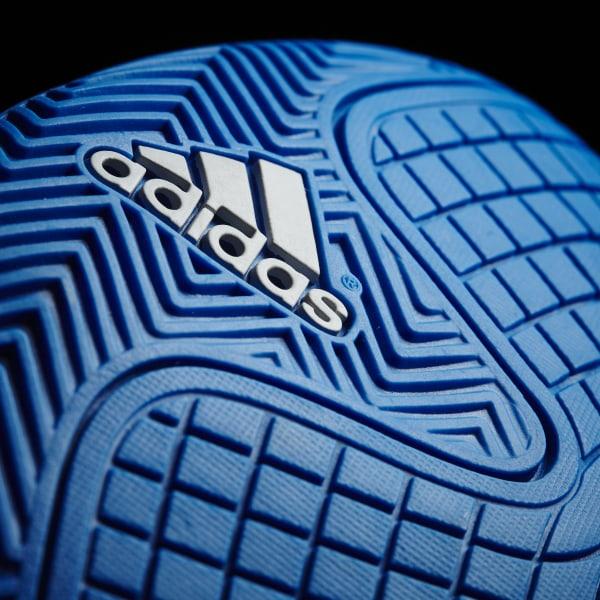 adidas Messi 16.4 Kids IN Shock BlueMatte SilverCore Black