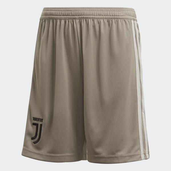 adidas Juventus Turin Auswärtsshorts Braun | adidas Deutschland