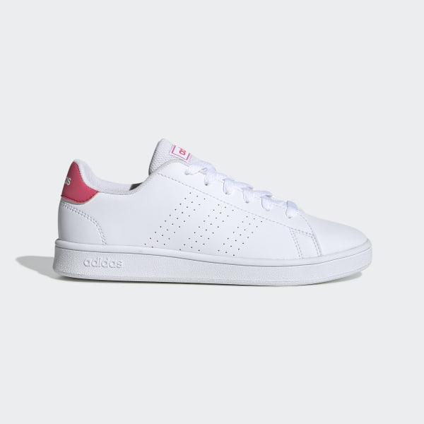 Adidas Advantage k Pokemon Scarpe Sportive Sneakers Bianco Bambino Donna