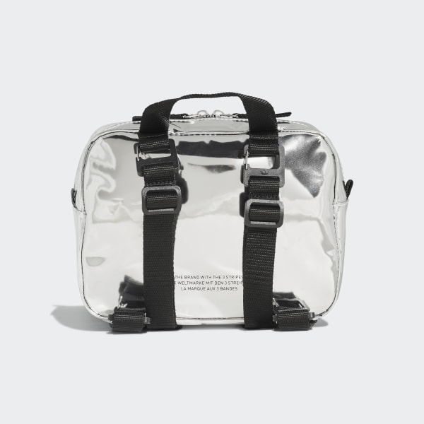 adidas Metallic Backpack Mini Silver Accessories