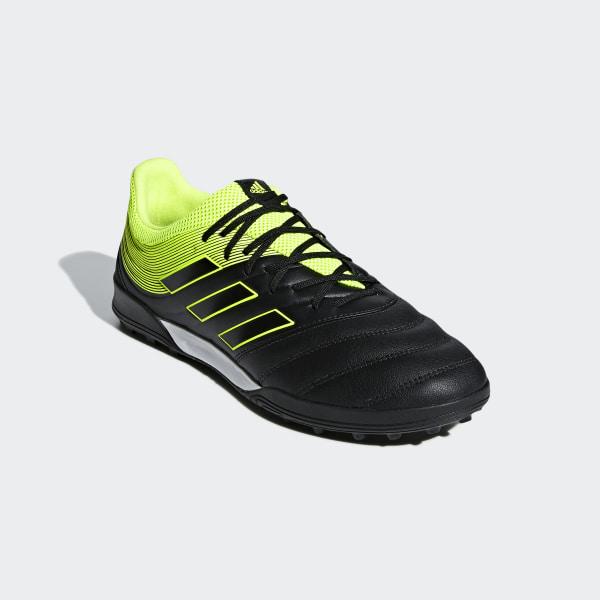 adidas Copa 19.1 TF Solar YellowCore Black   soccerloco