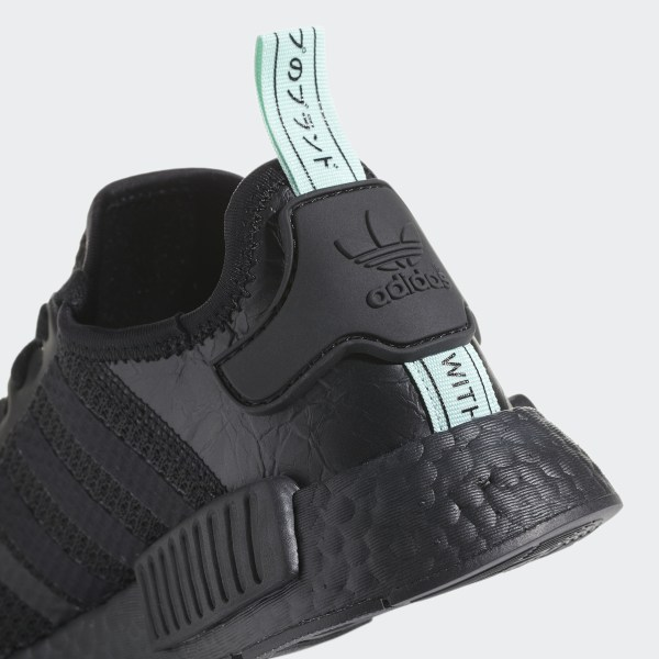 """adidas NMD R1 """"Mint Glow"""" Core Black Clear Mint For Sale"""