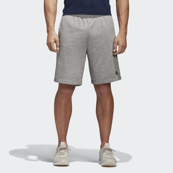 adidas Essentials 3 Streifen Shorts Grau | adidas Deutschland