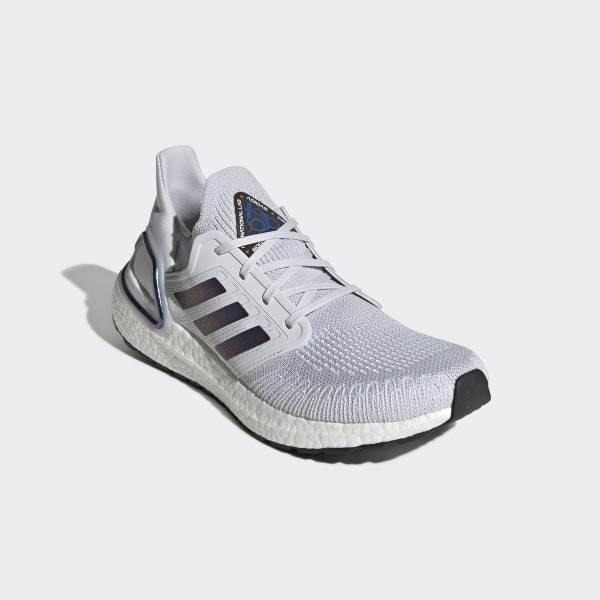 Giày UltraBoost 20 Dash Grey / Boost Blue Violet Met. / Core Black EG0695