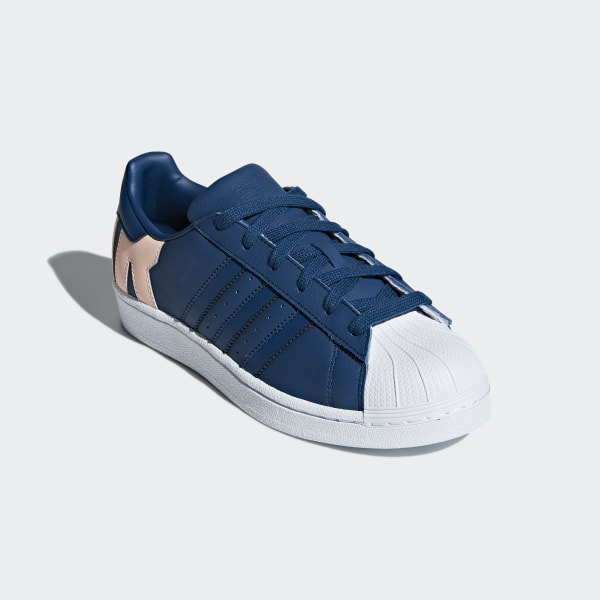 adidas superstar orange blue