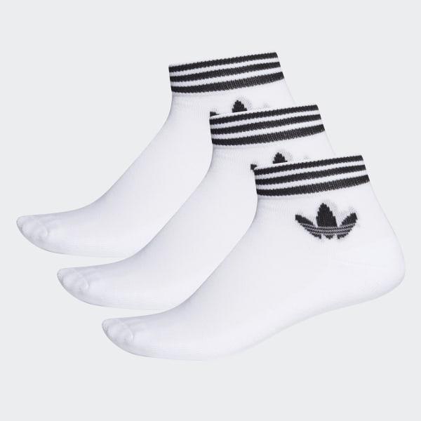 adidas Trefoil Ankle Socken, 3 Paar Weiß   adidas Deutschland