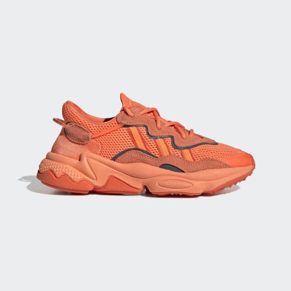 chaussures adidas orange et noir