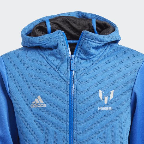 adidas Messi Kapuzenjacke Blau | adidas Deutschland