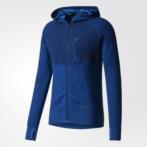 adidas City Run Primeknit Jacket Blue | adidas Canada