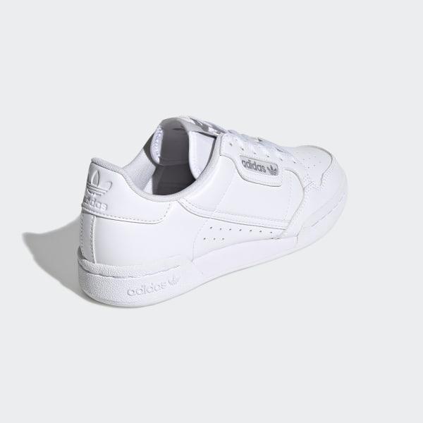 Damen Schuhe Weiß Adidas 80 Continental Ee8383 Originals