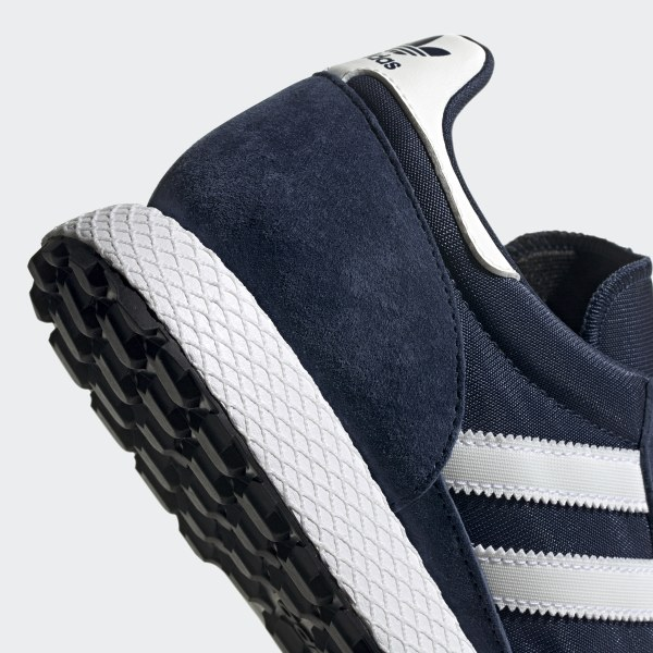 adidas Forest Grove Shoes Blue | adidas UK