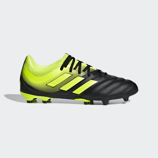 adidas Copa 19+ FG Core BlackSolar Yellow