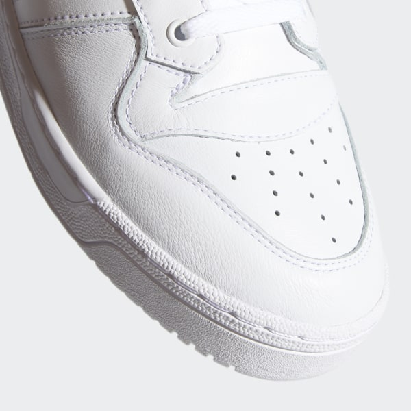Adidas Sneakers rivarly low in pelle e tessuto bianco cod