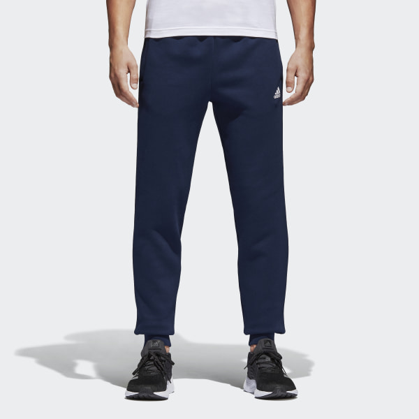 bottom price release date: offer discounts adidas Essentials Tapered Fleece Joggers - Blue | adidas UK