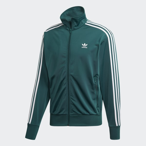 chaqueta adidas negra y verde