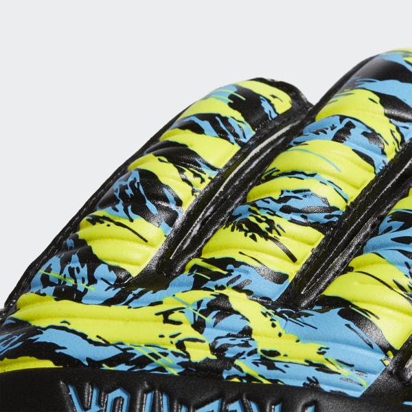 adidas Predator Manuel Neuer Top Training Fingersave Goalkeeper Gloves Yellow | adidas UK