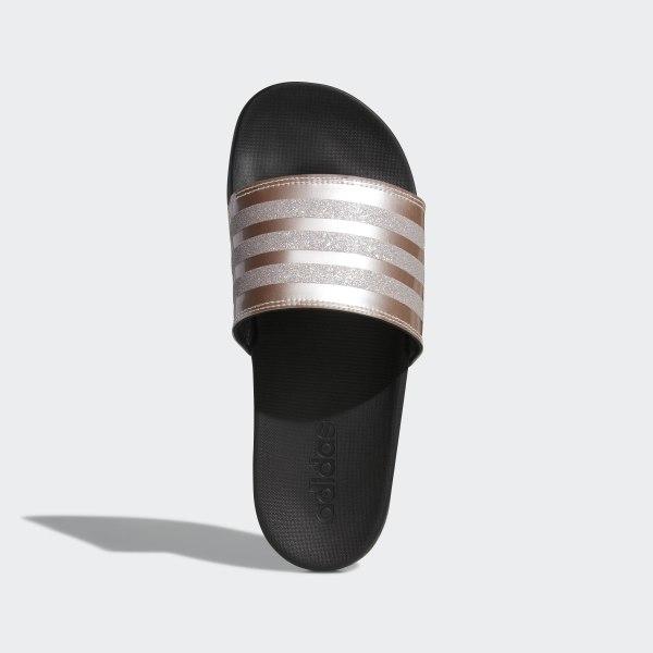 adidas adilette slides gold