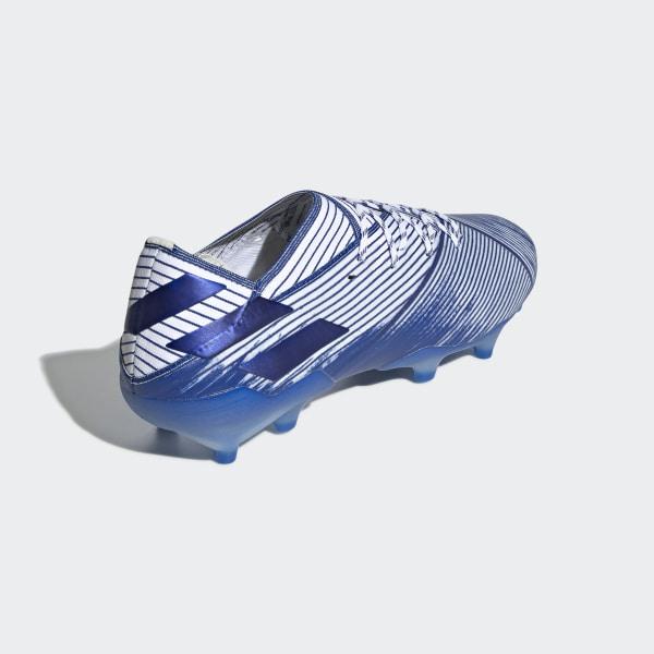 Scarpe da calcio Nemeziz 19.1 Firm Ground Bianco adidas | adidas Switzerland