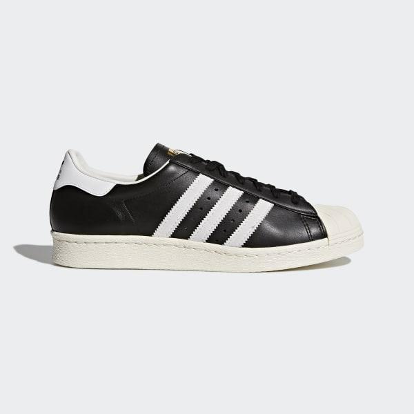 adidas Superstar 80s Schuh Schwarz | adidas Austria