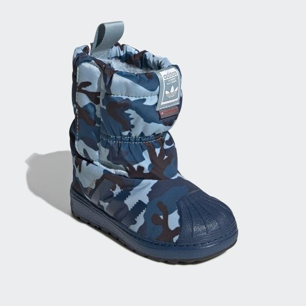 ADIDAS SLIP ON BOOT Kinder Jungen Schuhe Schneestiefel
