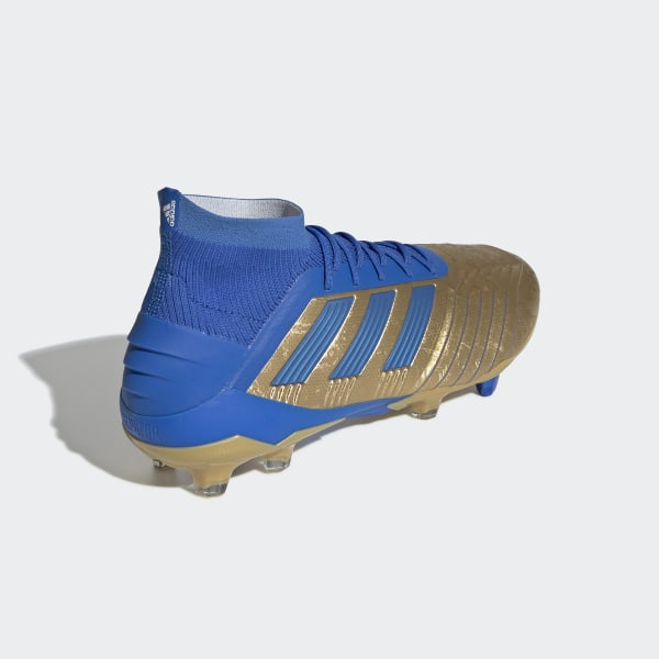adidas Predator 19.1 Firm Ground Cleats - Gold | adidas US