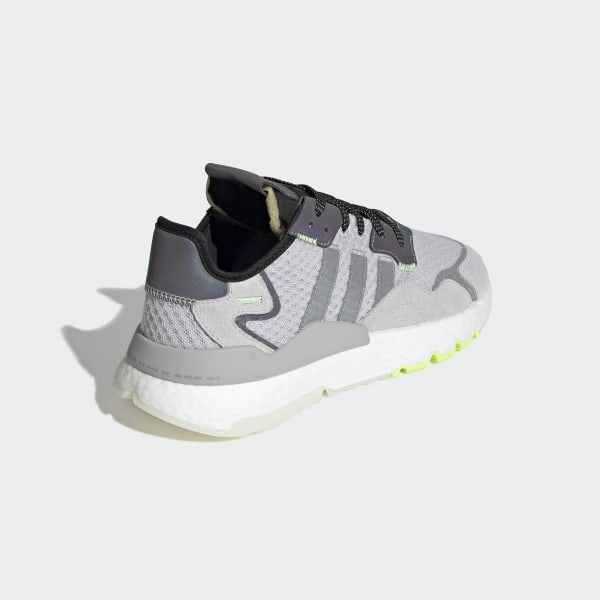 Nite Jogger Shoes Light Solid Grey / Charcoal Solid Grey / Hi-Res Yellow EF5839