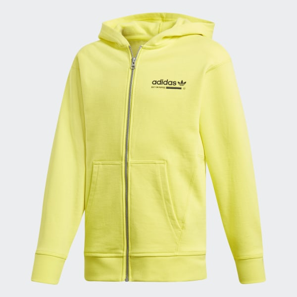 adidas Kaval Hoodie Yellow | adidas US
