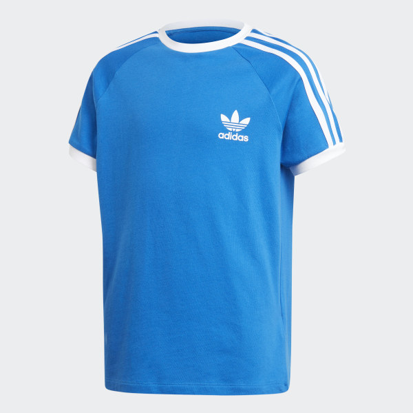adidas 3-Stripes Shirt - Blauw | adidas Officiële Shop