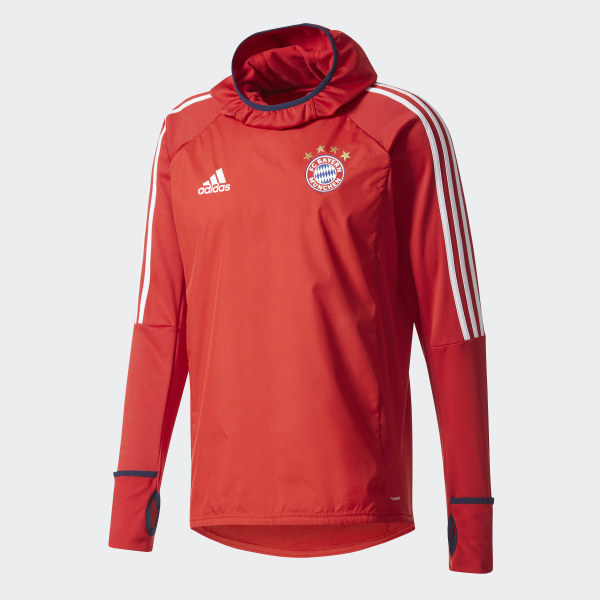 adidas FC Bayern Munich Warm Top Red | adidas UK
