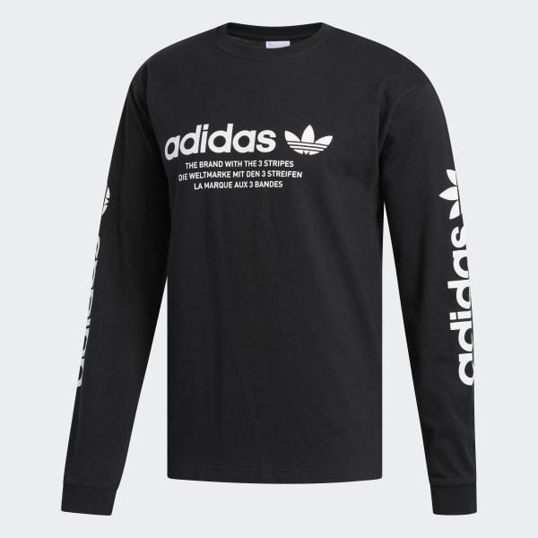 adidas Linear Logo Tee Black   adidas US