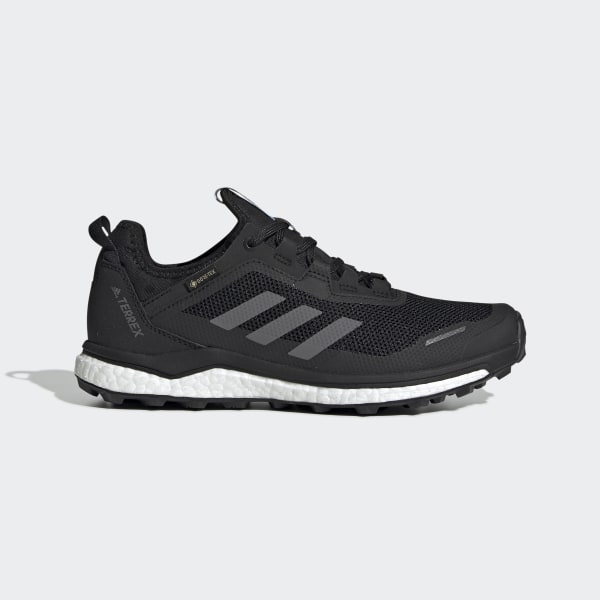 adidas Terrex Agravic Flow GORE-TEX Trail Running Shoes - Black   adidas UK