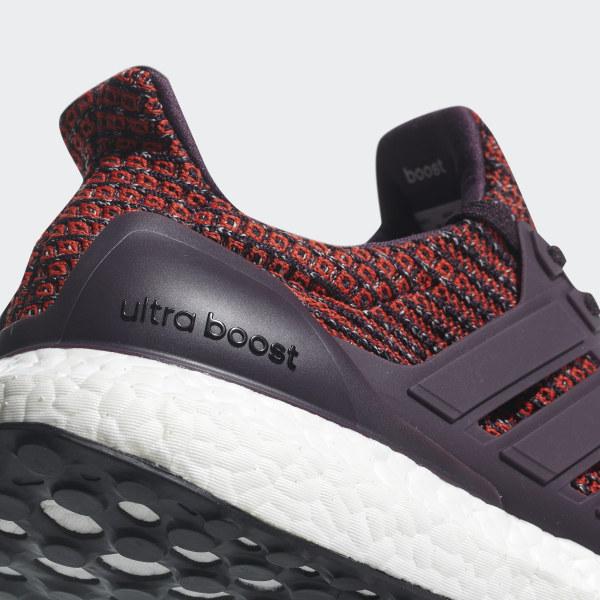 Tênis Adidas Ultra Boost Off White C Vermelho Schlussverkauf