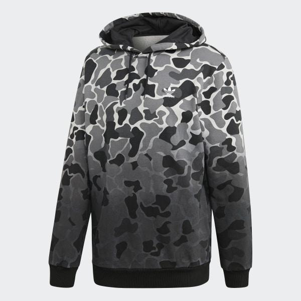 Blusa Capuz Camouflage Dip Dyed Multicores adidas | adidas Brasil