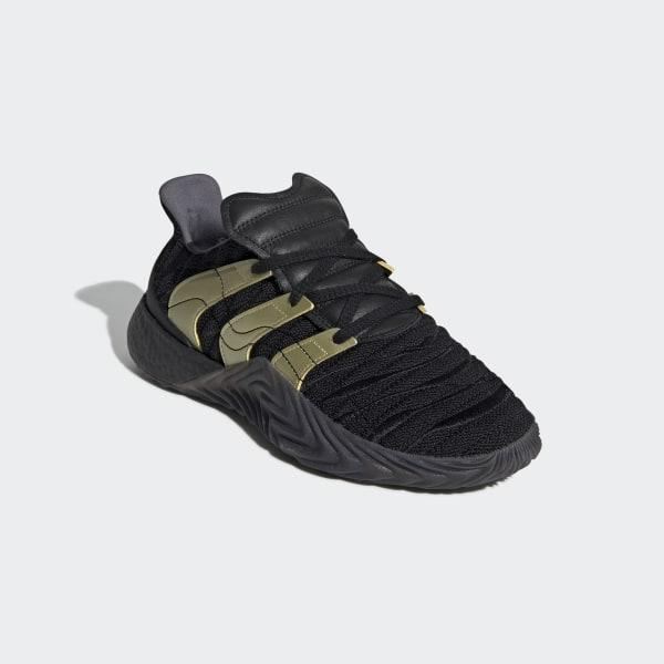 Adidas Originals Sobakov Boost Core Black Metallic Gold