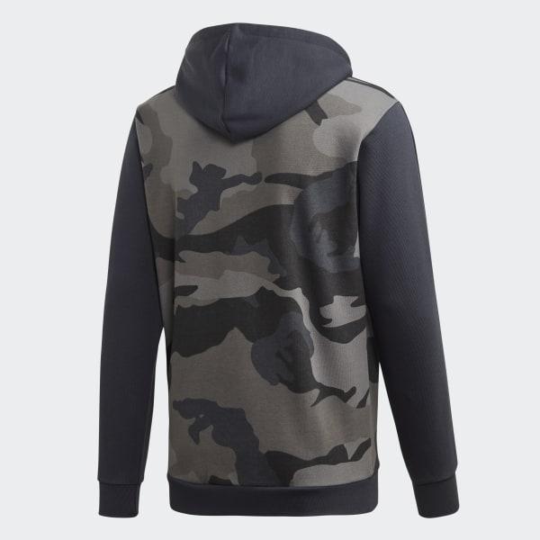 Veste à capuche Camouflage Multicolore adidas | adidas France