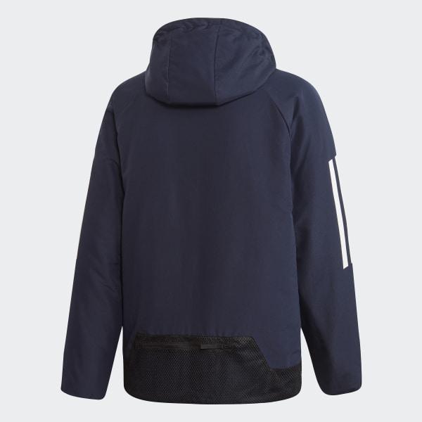 BTS 3 Stripes Hooded Winter Jacket